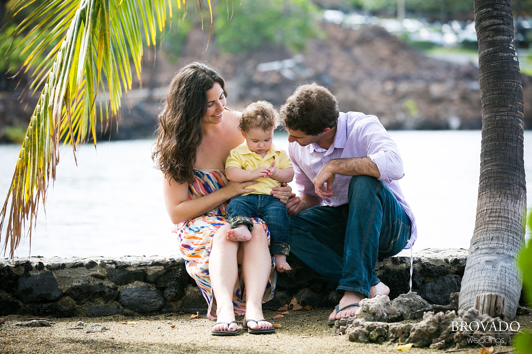 Maui Family Vacation Baby Portrait Session