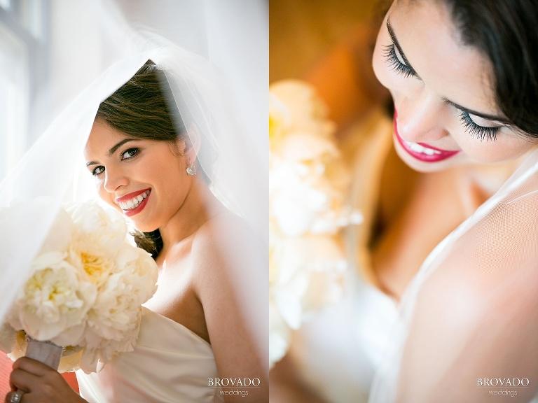 Jewish Wedding at the Minneapolis Depot bride portraits