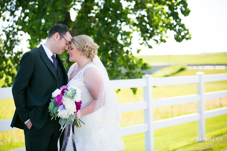 Pipestone MN Wedding Photography at Fountain Prairie Farm bride and groom