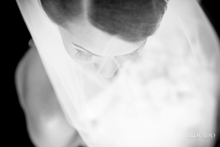 Downtown Minneapolis Wedding Photography at Le Meridien Hotel eyelash detail