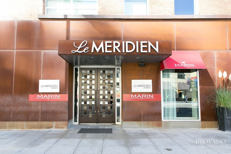 Downtown Minneapolis Wedding Photography at Le Meridien Hotel