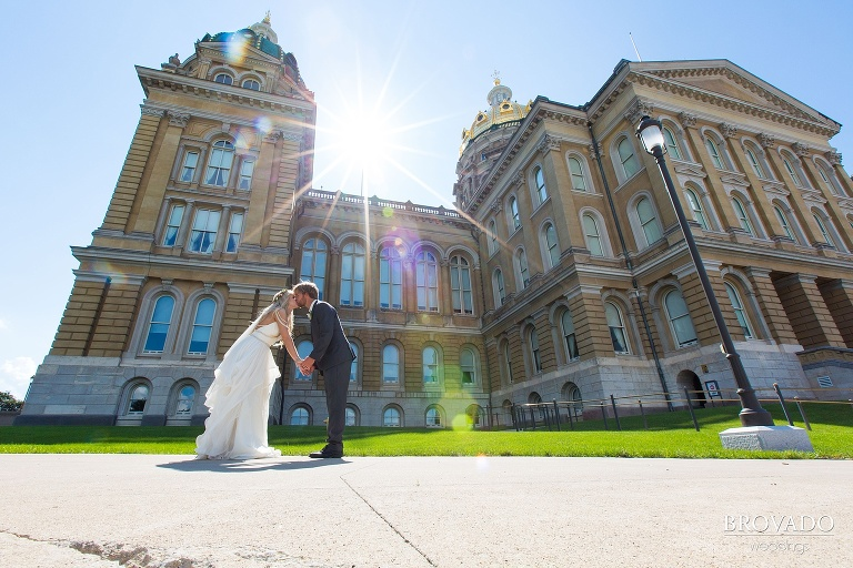 Comic Con couple Ties the Knot at destination wedding in Des Moines Iowa