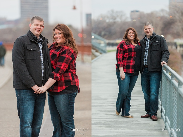 Downtown Minneapolis engagement