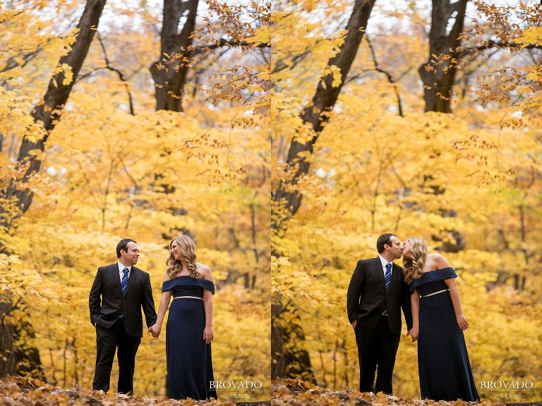 engagements, fall, love, couple, prettyleaves,