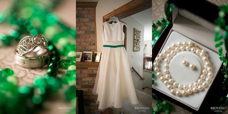 wedding,green,monticello,love,couples,brovadoweddings,heidi,tony,church, st patricks day, march, bride, couple
