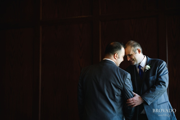 Gay Harry Potter themed wedding photography at Wayzata Country Club