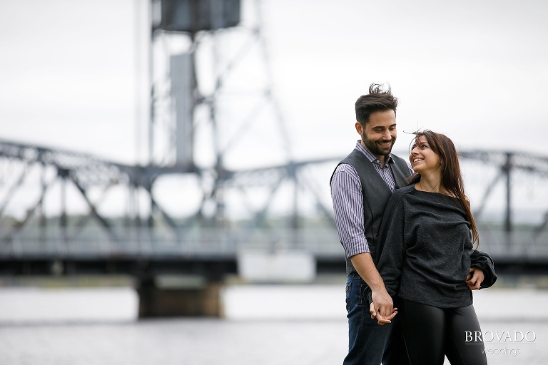 Yevgenia and Eugene's Engagement Photos by Preston Palmer of Brovado Weddings taken on the St. Croix River in Minneapolis, Minnesota-04.jpg