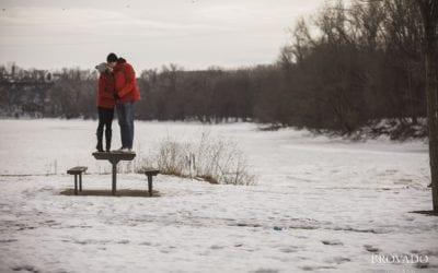 An Icy Adventure and Inspiring Love | Megan & Ben